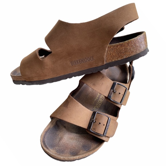 BIRKENSTOCK MILANO Sandal Women 8 Men 6 Size 39